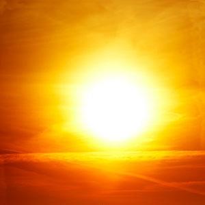 sun over Riyadh