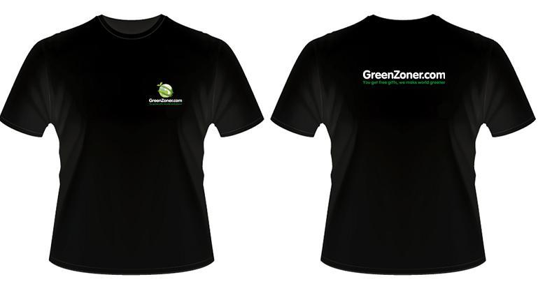 Greenzoner shirt