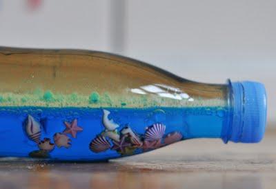 decoration plastic bottle