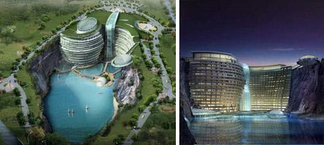 Eco hotel China