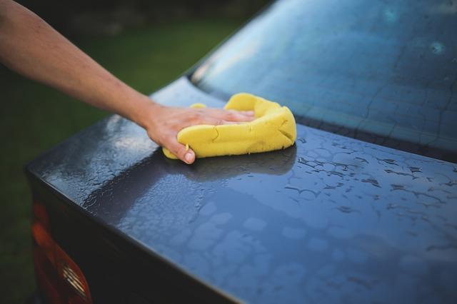 Organic way to wash your car