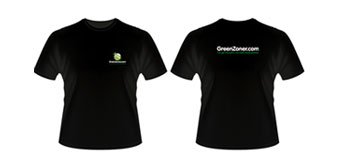 Greenzoner t-shirts